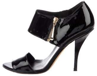 Gucci Patent Leather High Heel Sandals