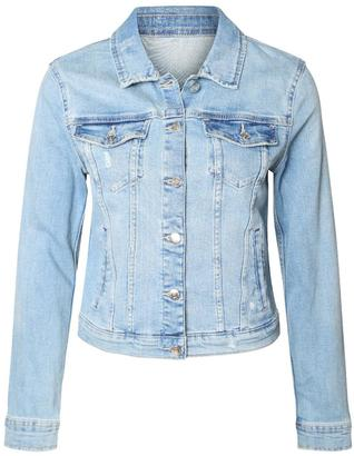 Dex Laundered Jean Jacket $99 thestylecure.com