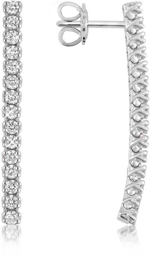 Forzieri 1.03 ctw Drop Diamond 18K Gold Earrings