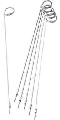 Weber Basics 6-Piece Stainless Steel Skewer Set