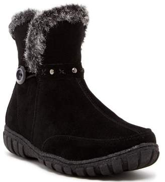 Carrini CA Collection Women's Fashion Faux Fur Ankle Boots