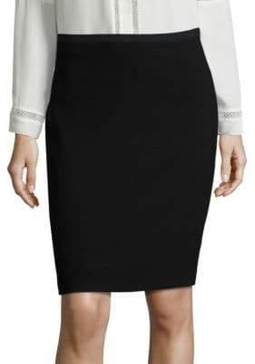 Elie Tahari Bennet Crepe Pencil Skirt