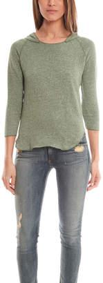 V::room 3/4 Sleeve Hood Pullover