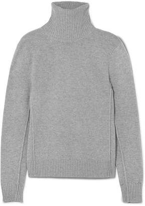 Chloé Iconic Cashmere Turtleneck Sweater - Gray