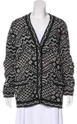 Missoni Patterned Wool Cardigan