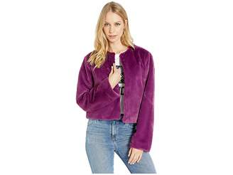 Juicy Couture Faux Fur Jacket Women's Clothing