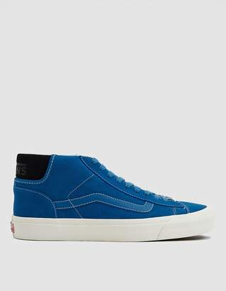 Vans Vault By OG Mid Skool LX Suede Sneaker in Deep Water