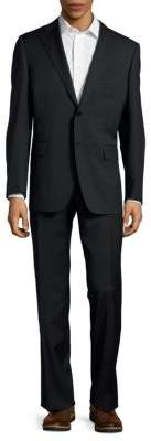CanaliTextured Two-Button Suit