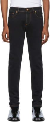 Versace Black Slim-Fit Jeans