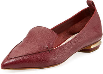 Nicholas Kirkwood Beya Pebbled Leather Loafer