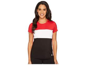 Fila Heritage Tennis Cap Sleeve Top Women's Short Sleeve Pullover