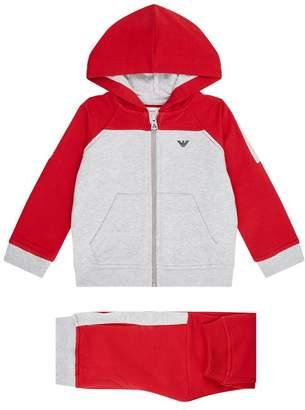 Emporio Armani Logo Hoodie and Sweatpants Set