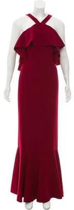 Rachel Zoe Baxter Ruffle Gown w/ Tags