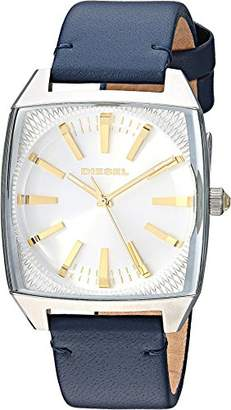 Diesel Women's Becky Stainless-Steel and Leather Watch DZ5561