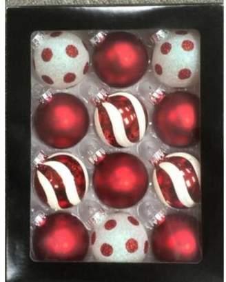 The Holiday Aisle Glass Christmas Ball Ornament