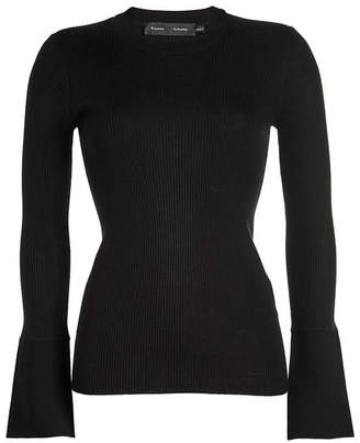 Proenza Schouler Knit Pullover with Silk and Cashmere