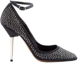 Lanvin Silver Glitter Heels
