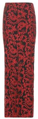 Alice + Olivia Leena embroidered maxi skirt