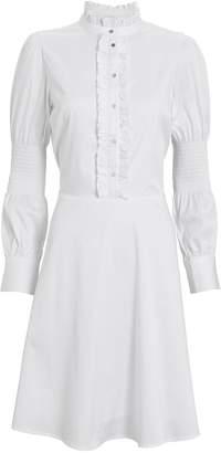 Milla Notes Du Nord Poplin Button Front Dress