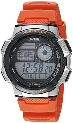 Casio Men's '10-Year Battery' Quartz Resin Casual Watch