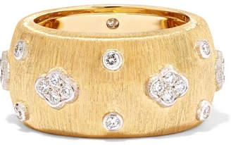 Buccellati Macri Eternelle 18-karat Gold Diamond Ring