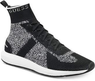 GUESS Men's Zachary High Top Sneakers Men's Shoes