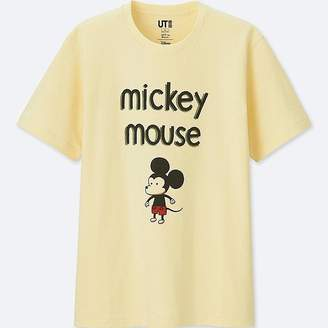 Uniqlo Mickey Art Short-sleeve Graphic T-Shirt (jeffrey Brown)