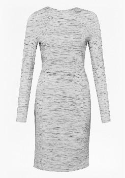 French Connection Heather Grey Lula Dress - 10 - Grey