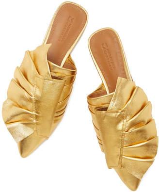 Mercedes Benz Castillo Tami Flat Mules Shoe