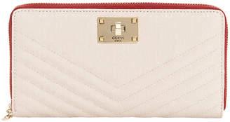 GUESS SG678063STO Halley Zip Around Wallet