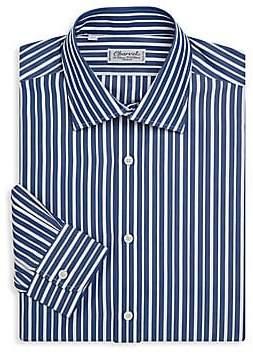 Charvet Men's Regular-Fit Stripe Dress Shirt