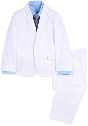Nautica (ノーティカ) - Nautica Toddler Boys 4-Pc. Twill Sailboat Suit Set