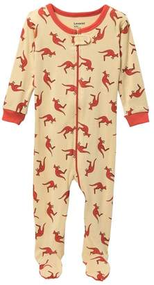 Leveret Kangaroo Footed Sleeper (Baby Girls)