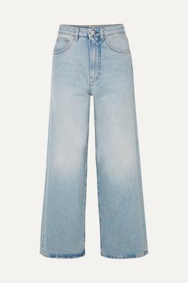 Totême Flair High-rise Wide-leg Jeans - Light denim