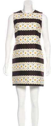 Mother of Pearl Daisy Print Shift Dress