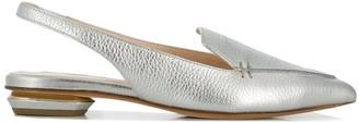 Nicholas Kirkwood 25 mm pointed slippers