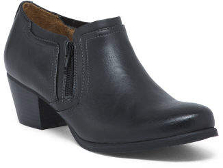 Comfort Ankle Booties