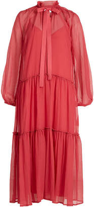 See by Chloe Dress in Cotton and Silk