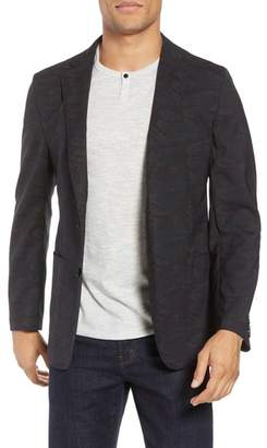 Hickey Freeman H Classic Fit Camo Wool Sport Coat