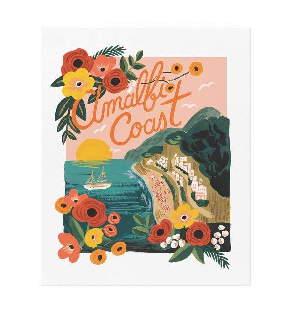 Amalfi Coast by Rifle Paper Co.