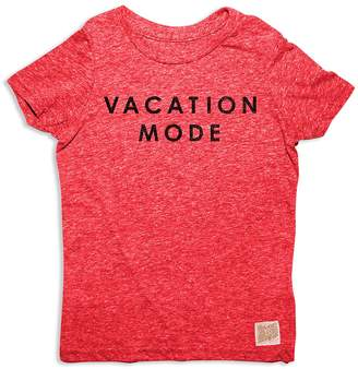 Original Retro Brand Boys' Vacation Mode Tee