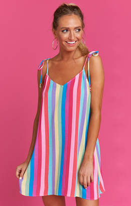 Show Me Your Mumu Throw and go Tie Dress ~ Ken's Crayons Cruise