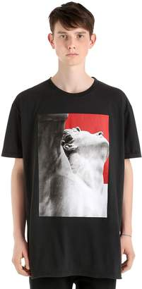 Damir Doma Oversize Printed Cotton Jersey T-Shirt
