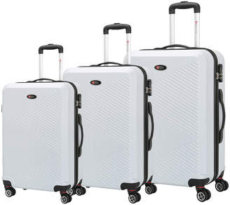 Brio Luggage Ridged Luggage (Set of 3)