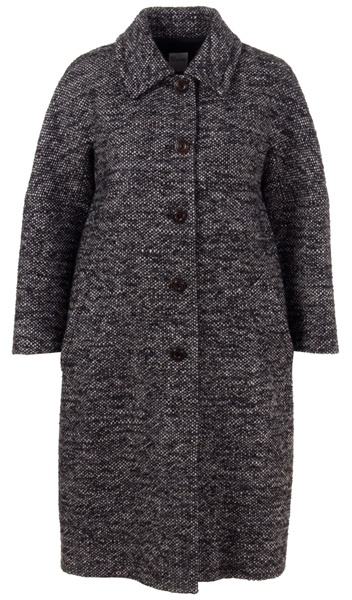 RED VALENTINO - Tweed coat