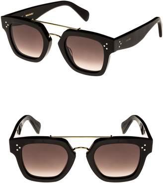 Celine 47mm Gradient Square Sunglasses