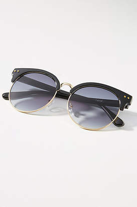 Anthropologie Elliot Round Clubmaster Sunglasses