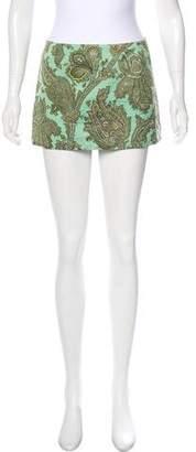 Dolce & Gabbana Vintage Micro Mini Skirt