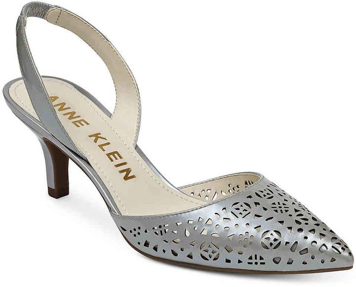 Anne KleinWomen's Fabrizia Pump -Silver