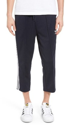Men's Adidas Originals Superstar Relaxed Crop Track Pants $70 thestylecure.com